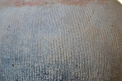 Ancient Archaic BAN CHIANG Pottery Pot Vessel Northern Thailand Cord Wrap 2