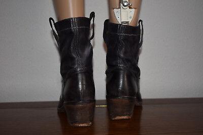 bf96761e1eb68f 5 5 sur 8 JFK Bottines femme Chaussures bottes italiennes tout cuir noir 36  ! 6