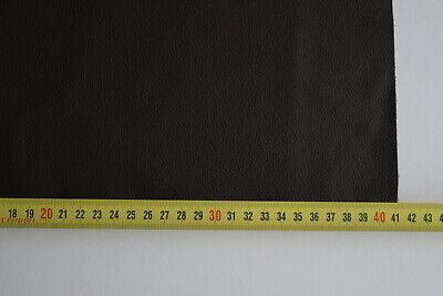 chute de cuir de couleur  Marron   grainé format ( 40 sur 20 cm )   vachette 5