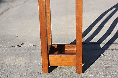 Gustav Stickley No. 54 Mission Oak Arts & Crafts Umbrella Stand 12