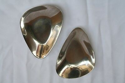 Magnificent Pair Of Sterling Silver Art Deco Reed & Barton Dishes 2
