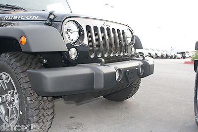 3 Of 5 2008 2014 Jeep Wrangler Front License Plate Bracket Relocation Jdm  Frame