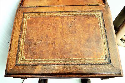 Davenport rosewood desk Victorian