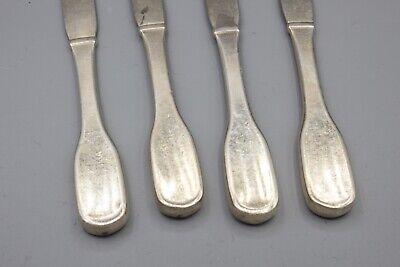 """Hans Hansen Susanne Sterling Silver Butter Spreader Knife – 6 1/8"""" – Set of 4 4"""