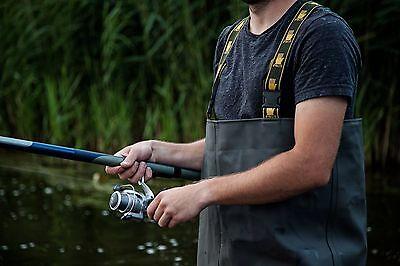 PROS Wathose Standard AJ-SB01 Anglerhose Fischerhose Teichhose Hochwasserhose