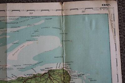 Kent, Bartholomew's Reduced Survey Sheet 31, Tourists And Cyclists. Cloth 3