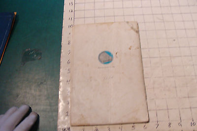 1925 THE BOOK OF LAWN FURNITURE--Long Bell lumber--CATALOG, 36pgs STAINED 12