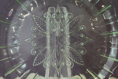 "Vintage Green Depression Glass 7-3/4"" Square Salad Plate Jeanette Adam 5"
