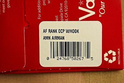 Usaf Us Air Force I/a Multicam Ocp E-2 Hook Back Camouflage Camo Uniform Rank