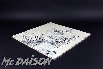 "10 BUSTE DOPPIE per LP APRIBILI POLIPROPILENE LUCIDE dischi vinile 33 giri 12"" 7"
