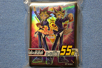 Yugioh Konami Official Limited Card Sleeves 55 Ct.【Muto Yugi and Yami】