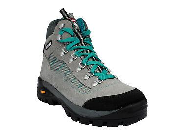 Nuova New York adatto a uomini/donne SCARPONI DA TREKKING scarpe montagna camminata caccia in pelle suola vibram