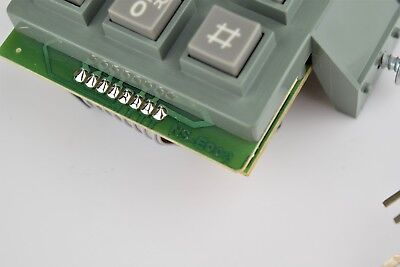 Vintage NEW Replacement 2500 / 2554 / 3554 Touch Tone Dial Pad  - SKU - 24805 3