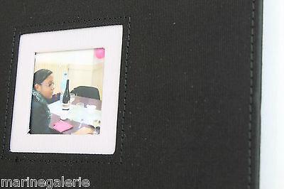 3 sur 4 Album photo neuf noir 50 pages noires 15x21 13x18 etc mini book pro  traditionnel c41b98c2dcce