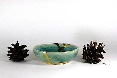 Kintsugi - Blue Chidori ( Small ) 2