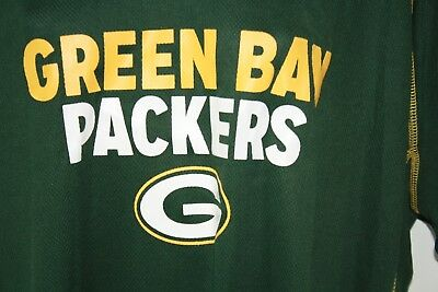 quality design 2b977 37f68 NEW WOMENS NFL Apparel Green Bay Packers Dark Green Synthetic Football Shirt