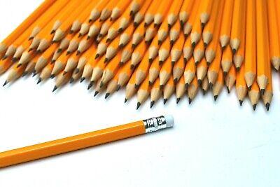 mit Gravur 25 Bleistifte mit Radierer unlackiert HB Härtegrad