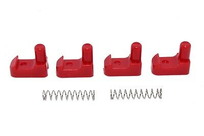 CNC Aluminum Geo Tracker//Suzuki Sidekick soft top roof latch clips with springs