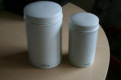 Porzellandosen Apothekerdosen (2 Stck.) 2