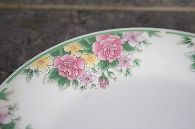 """Gibson Designs China Salad Plate Discontinued /""""Alexandria/"""" Pattern 1280"""