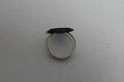 Antique Authentic Old Ottoman Turkish Islamic Silver Ring 4