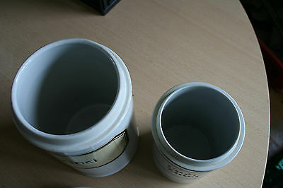 Porzellandosen Apothekerdosen (2 Stck.)
