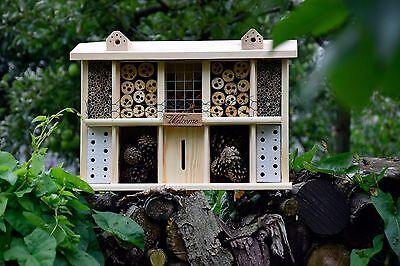 insektenhotel bausatz selber bauen landsitz insektenhaus bienenhaus bienenhotel eur 54 90. Black Bedroom Furniture Sets. Home Design Ideas