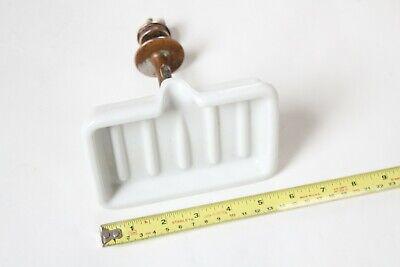 antique sink soap holder dish tray | porcelain soap dish victorian bathroom vtg 12