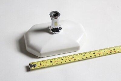 antique faucet soap holder dish tray | standard octagon sink porcelain soap vtg 3