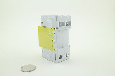 2P 10-20KA PMD-D Din Rail Surge Protective Lightning Arrester Protection Yellow