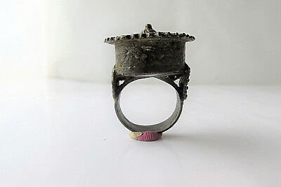 Byzantine  Medieval Ancient Ring Bronze