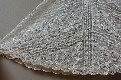 WEDDING DRESS WTOO By Watters Betty Lace Pearl Almond Sweetheart ...