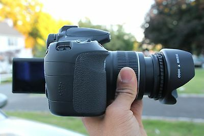 MINT CANON EOS 60D 18 0 MP Digital Camera with 18-55mm and 50mm 1 8 Lens  Lens