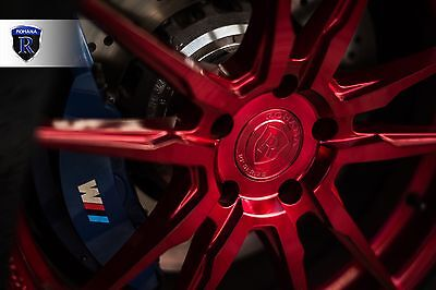 """20"""" ROHANA RF2 Gloss Red Concave Wheels For Bmw F12 F13 640 650 Gran Coupe"""