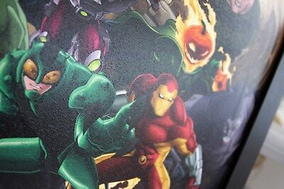 AVENGERS ENDGAME CHARACTERS 13x19 FRAMED GELCOAT POSTER MARVEL MOVIES COMICS NEW 2