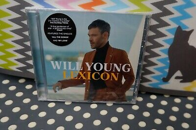 """Will Young New Sealed Fast Freepost 2019 UK#1 album """"Lexicon"""" CD Ground Running 8"""