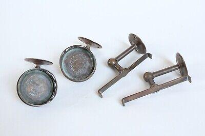 antique bathroom cup tumbler holder shelf supports | jl mott vtg deco victorian 5