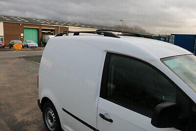 Fiat Qubo 2008 portapacchi Nero Binari del tetto in alluminio