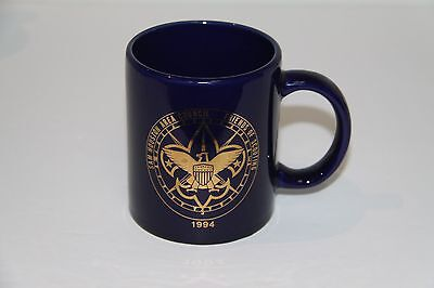 Boy Scout San houston Council Friends of Scouting 1994 vintage Texas coffee mug