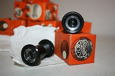 Vintage Romanian Bakelite Door Viewer Spy Unused In A Box 6