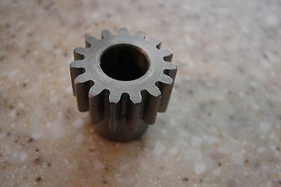 15 Tooth 3//8 inch bore Spur gear Pinion gear