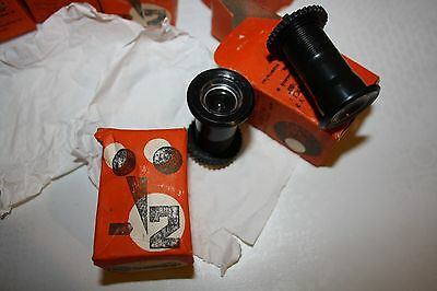 Vintage Romanian Bakelite Door Viewer Spy Unused In A Box 8