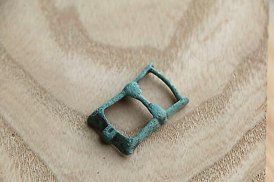 Kievan Rus Viking Bronze Buckle, Strap End, Part of Belt 9-10 AD 2 • CAD $31.89
