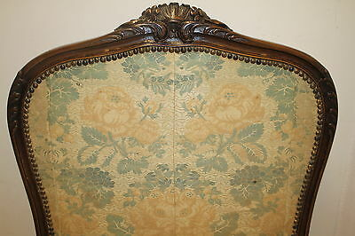 French louis XV Fireplace Screen with Original Fabric, From France, Circa 19th 9