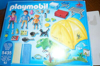 Playmobil 5435 Famille Et Tente De Camping Boite Et Notice Eur 29 90 Picclick Fr
