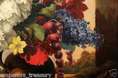 Early 20th Century European Flower Still Life Oil Painting 7