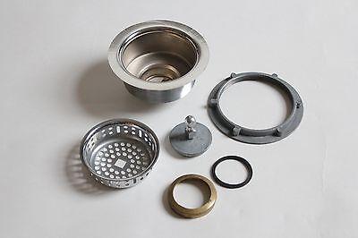 antique vintage sink drain strainer | art deco antique vtg plumbing nickel 5