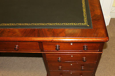 Replacement gold tooled desk or table leather 3