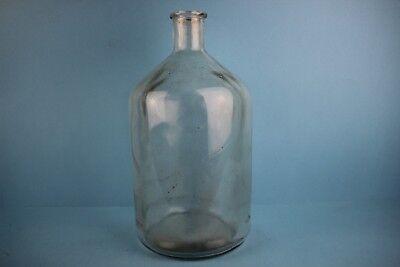 Alter Glasballon  Apothekerflasche Zylinder Transparent 5 Liter Nr 35 2