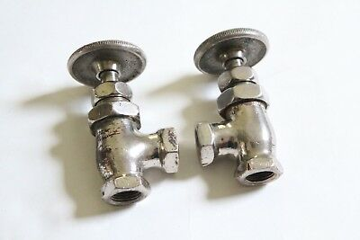 antique faucet wheel shut off angle valve | united deco vtg victorian plumbing 11